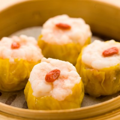 Tim Ho Wan - Steamed Pork Dumpling with Shrimp