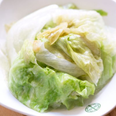 Tim Ho Wan - Blanched Lettuce